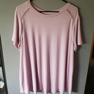 Lane Bryant Plus Size Short Sleeve Top